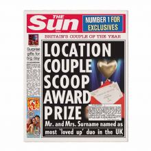 The Sun Anniversary Newspaper